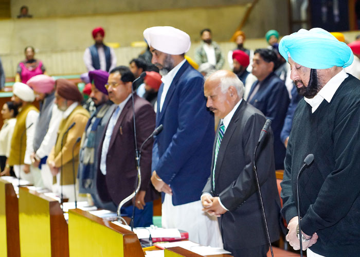 Amarinder leads Punjab Vidhan Sabha