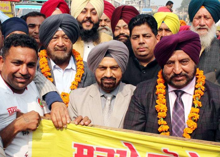 Baljinder Singh Punjab Jagriti March