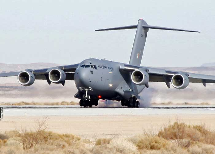 C 17 Globemaster IAF