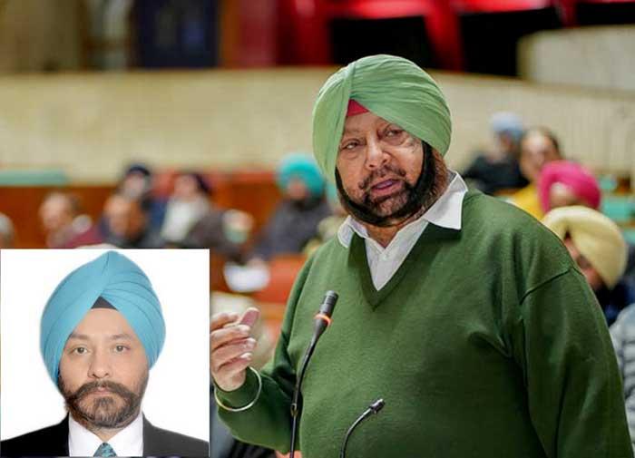 Capt Amarinder Singh SP Singh