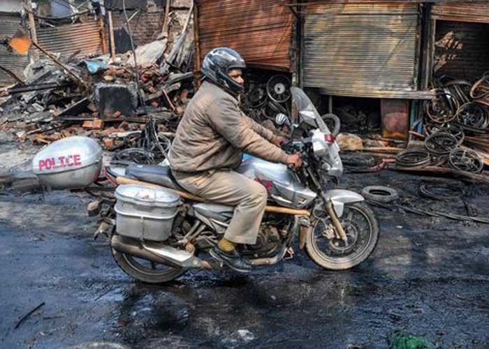 Delhi Joharpuri violence