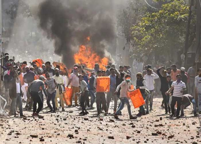 Delhi Maujpur Violent protest