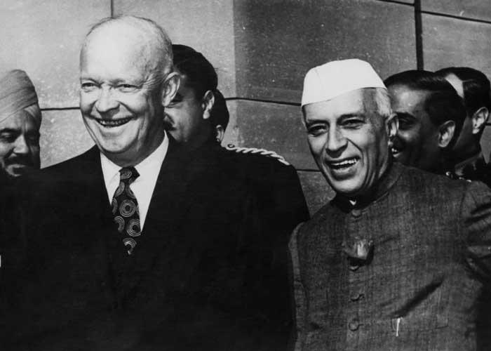 Dwight Eisenhower Jawaharlal Nehru