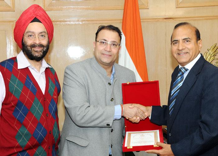 Haryana DGP honours IT professionals