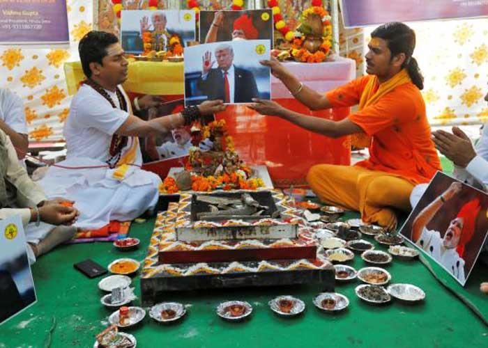 Hindu Sena Yagna for Trump