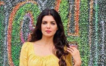Ihana Dhillon in Yellow
