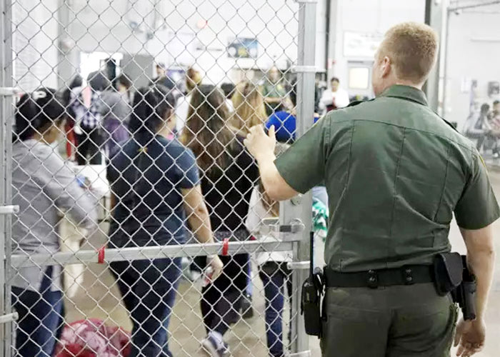 Indians in US Detention Centre