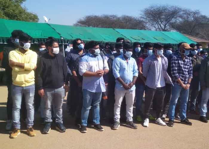 Indians in coronavirus quarantine camp