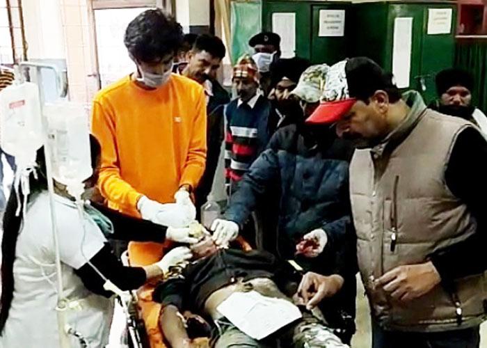 Jalandhar Car Activa accident