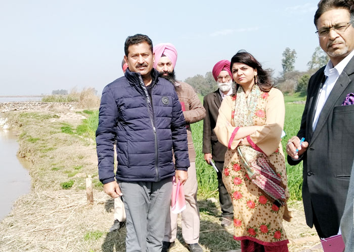 Kapurthala DC Dipti Uppal visit Dushban