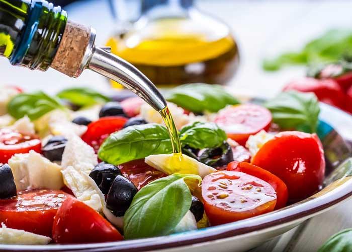Olive Oil in Mediterranean Diet