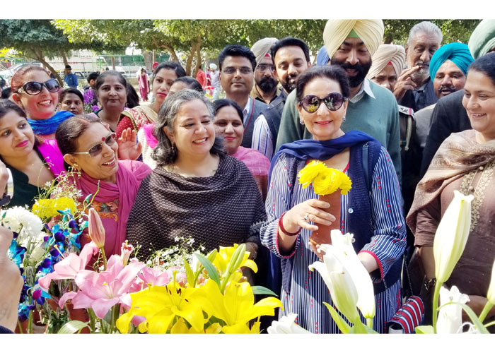 Preeneet Kaur at Patiala Heritage Festival