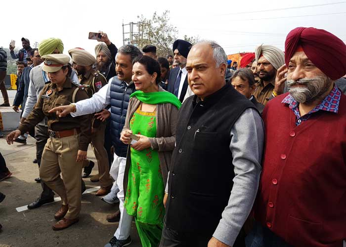 Preneet Kaur Bridge Inaugration Patiala