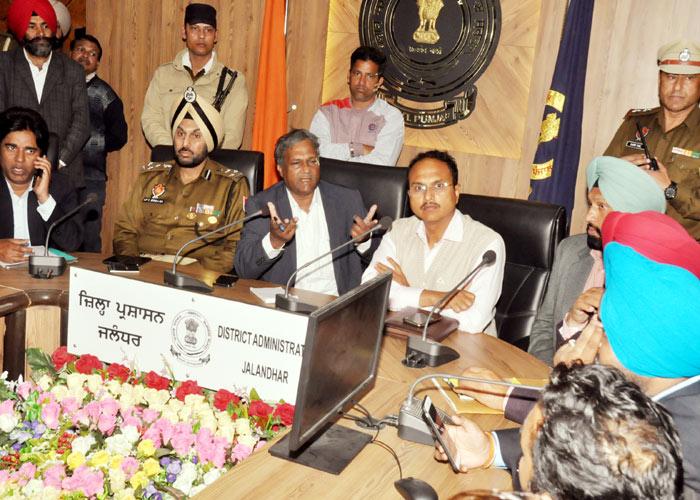 Varinder Sharma at meeting