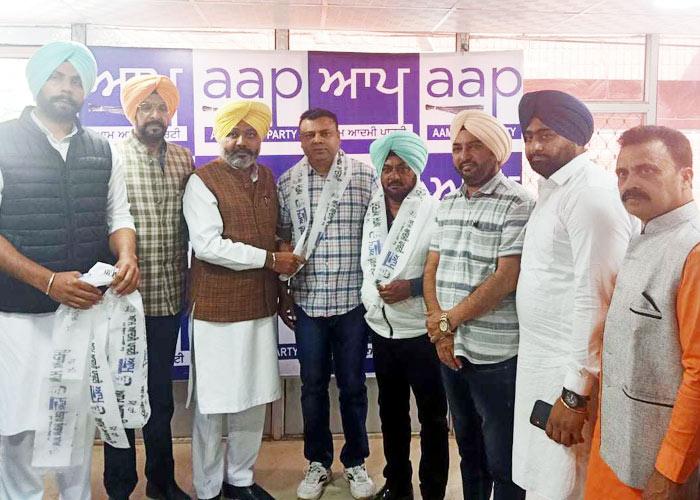 BJP LIP leaders join AAP