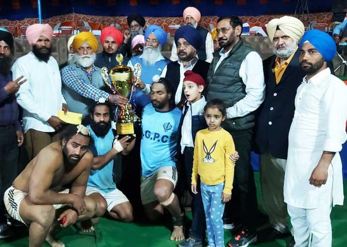 Baldev Singh Khattra Memorial Kabaddi Cup Winners