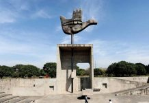 Chandigarh Hand Monument