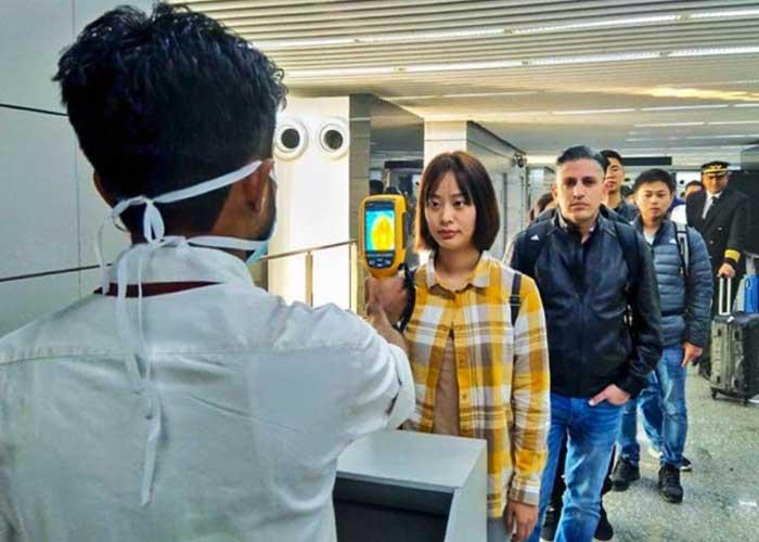 Coronavirus screening at Indian Airports