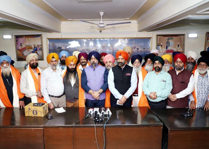 Delhi committee press conference