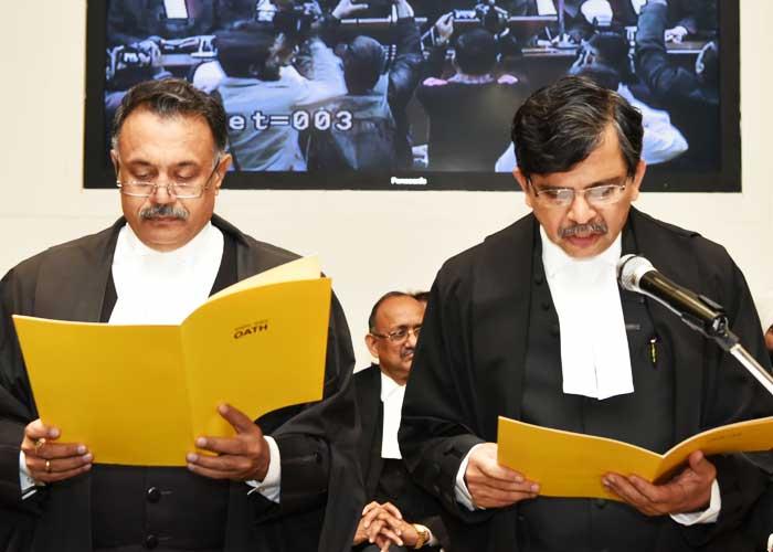 Justice Muralidhar Take oath Pb Hry HC Judge