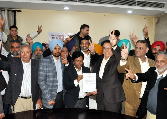Kirpal Sihota president of NRI Sabha Punjab 2
