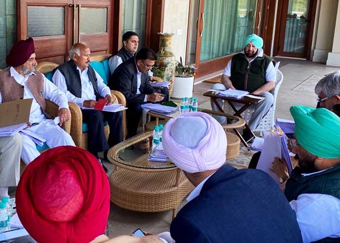 Punjab Cabinet Meeting 2Mar20