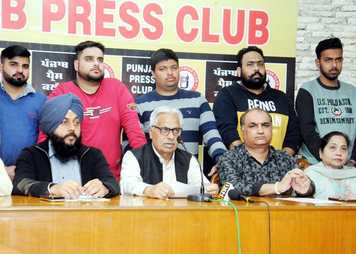 Punjab Jagriti Munch press conference