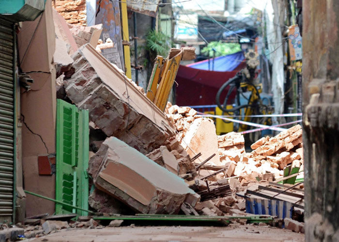 Roof collapse Amritsar