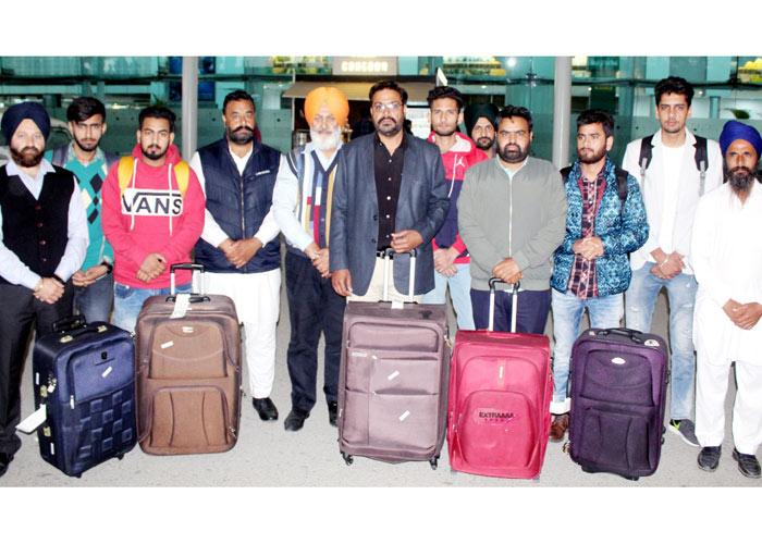 SP Oberoi Dubai returned boys