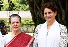 Sonia Gandhi Priyanka Gandhi