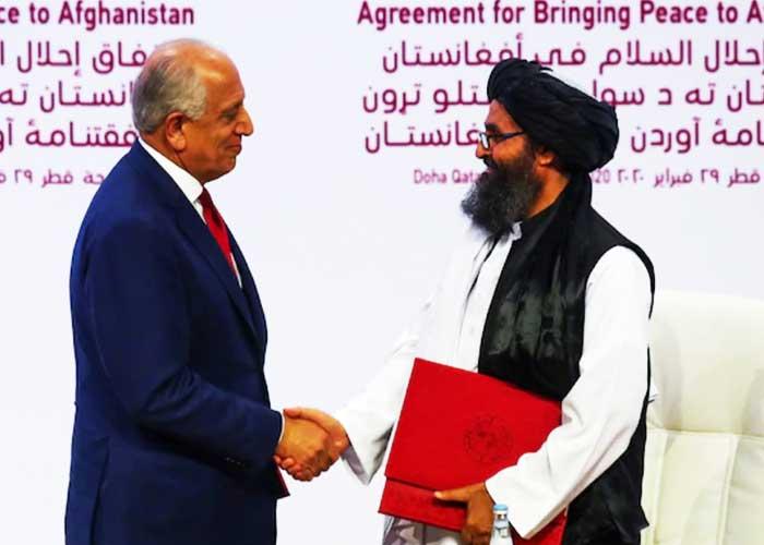 US Taliban peace deal