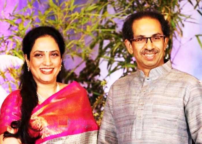 Uddhav Thackeray with wife Rashmi