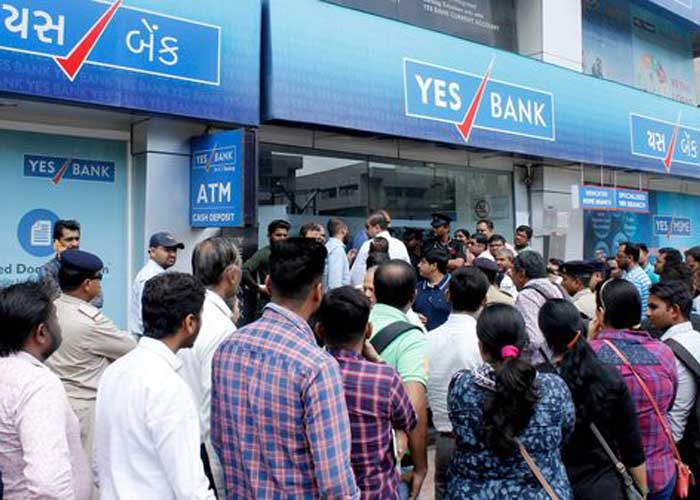 Yes Bank Queue