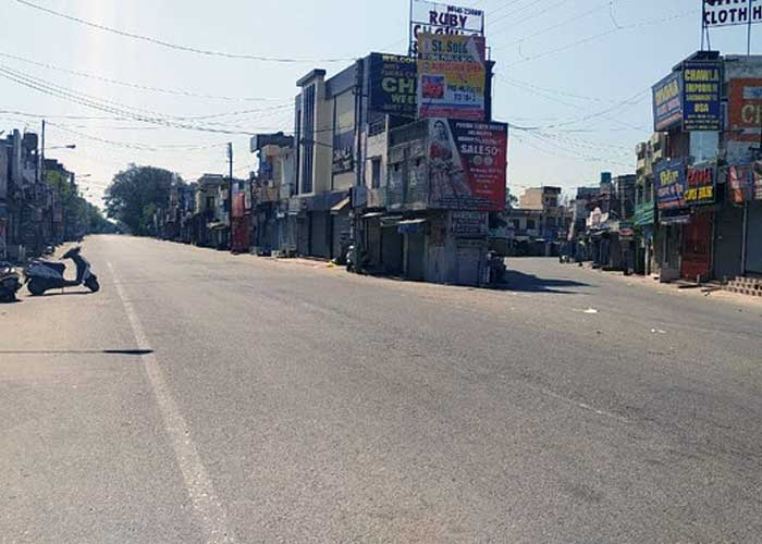 Lockdown in Hoshiarpur