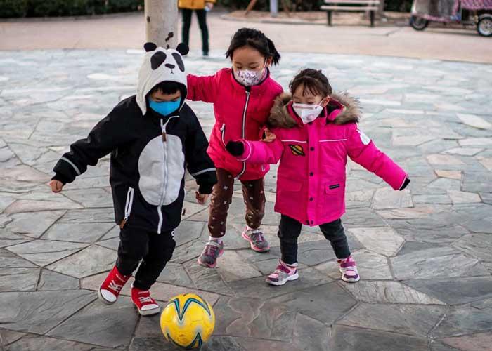 Kids Playing New York