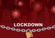 Lockdown Coronavirus Logo