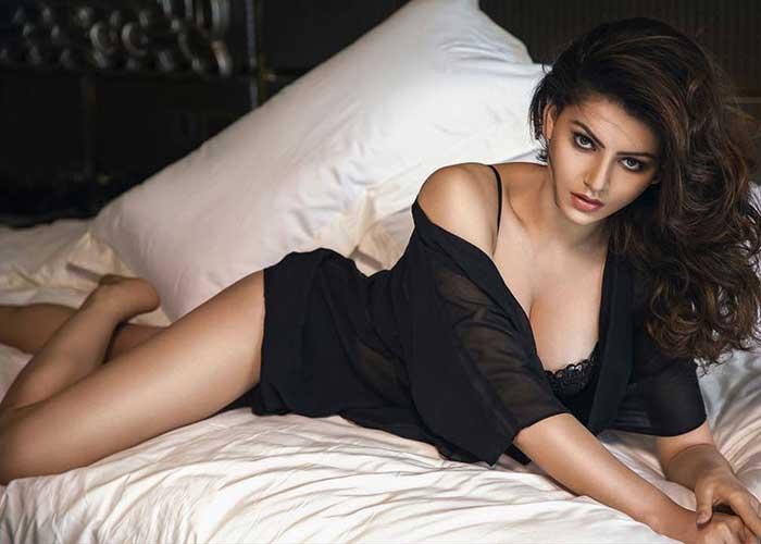 Urvashi Rautela Black Hot