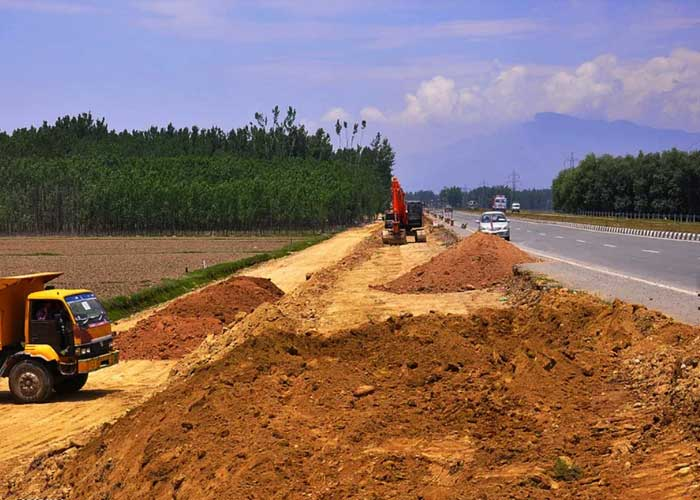 Air Strip Emergency Construction in Kashmir