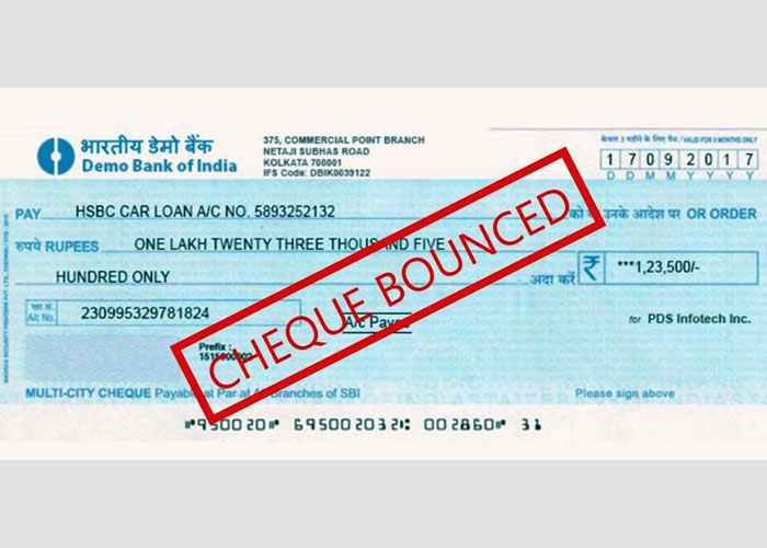 Cheque Bounced