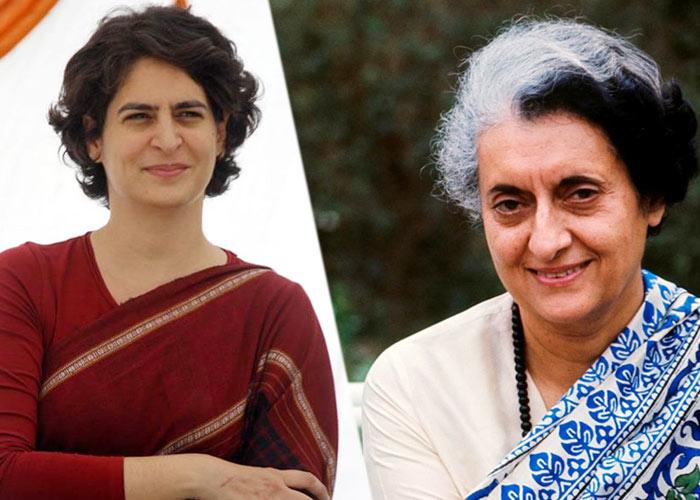 Priyanka gandhi Indira gandhi