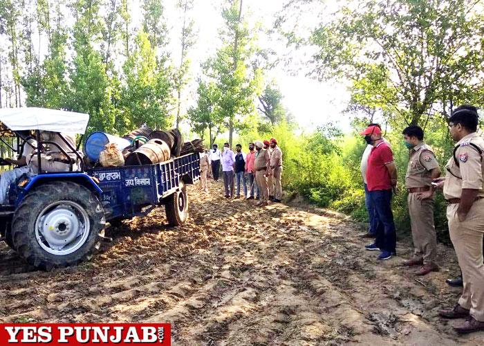 Ropar police raids Himachal village