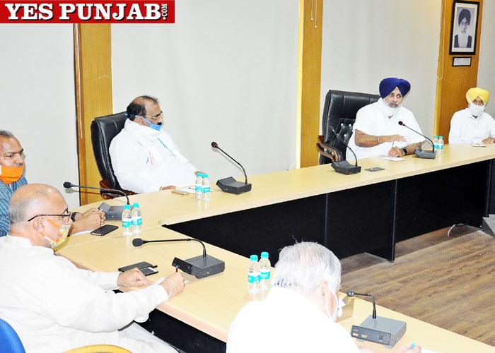 SAD BJP joint meeting