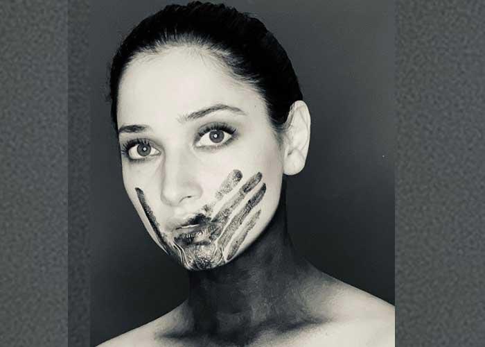 Tamannaah Bhatia Black Lives Matter Pic