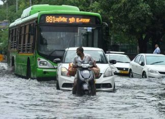 Delhi Rain Water