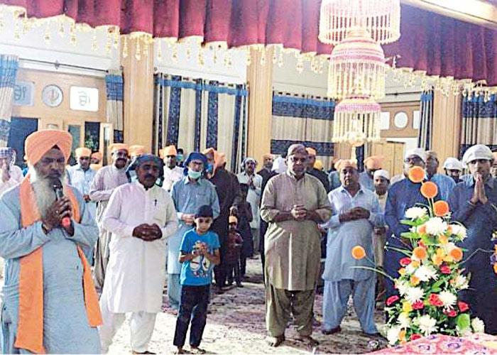 Gurdwara Shri Guru Singh Sabha Quetta in side