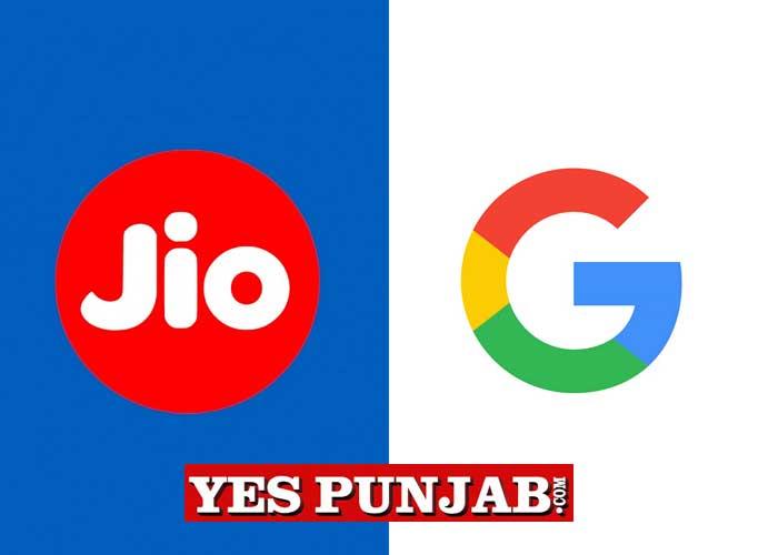 Jio Google Logo
