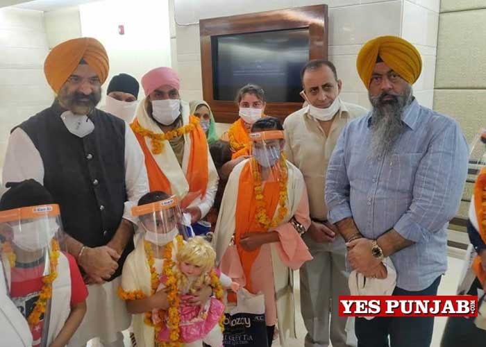 Sirsa welcome Afghanistan Sikhs Delhi