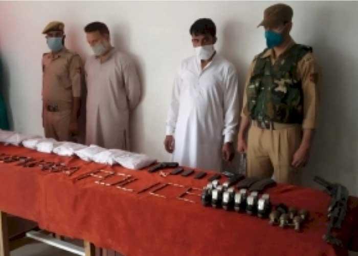 Terror hideout busted in kashmir