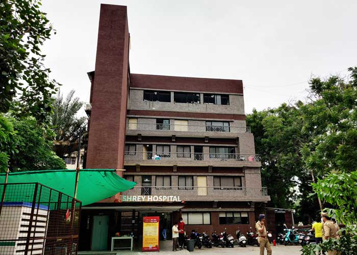 Ahmedabad Shrey Hospital fire