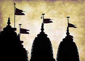 Hindu Temple Shadow